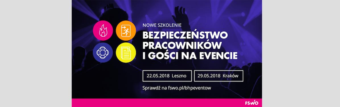 BHP eventów- nowe szkolenie dla branży
