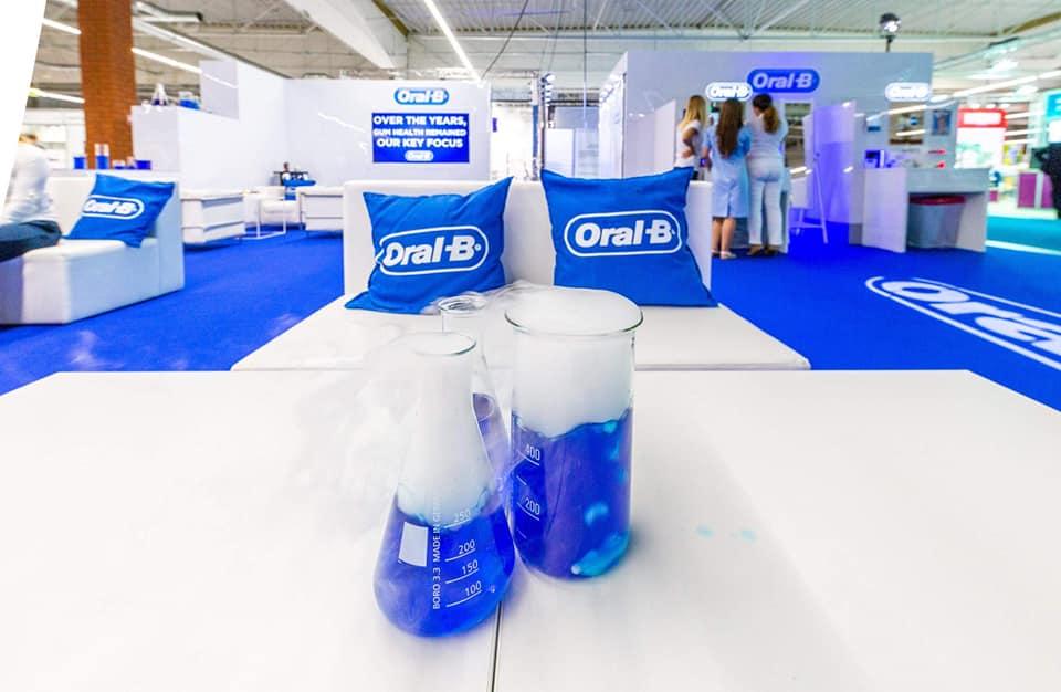 Estancia Group dla marki OralB – nagroda za stoisko targowe