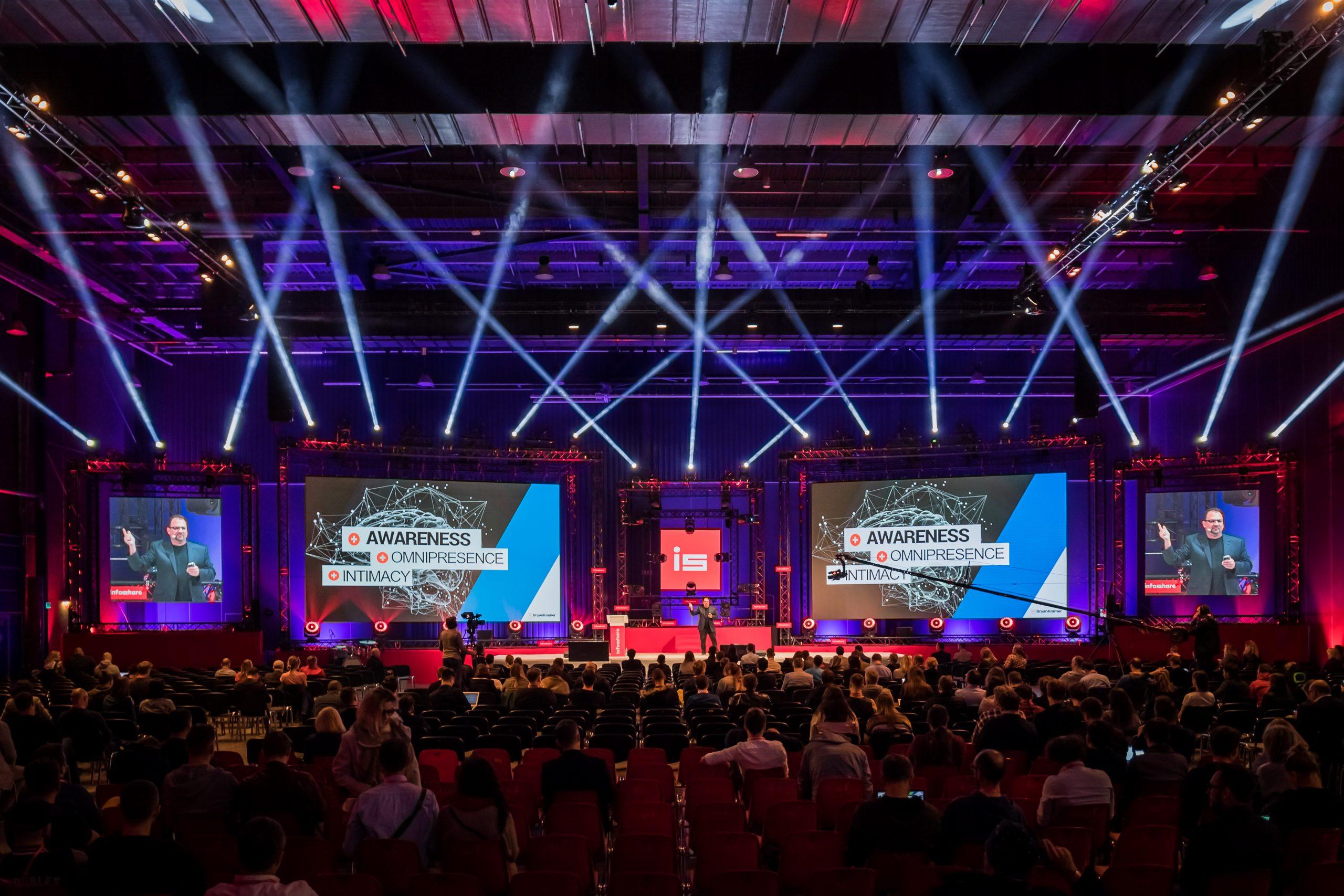 LEDCITY – Kompleksowa obsługa multimedialna konferencji Infoshare 2019 w Gdańsku