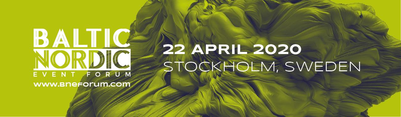 Baltic Nordic Event Forum już 22 kwietnia w Sztokholmie