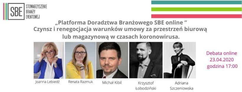 Platforma doradztwa branżowego SBE – czynsz i renegocjacja warunków umowy