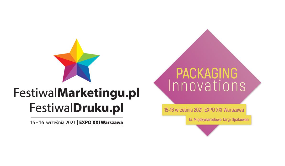 Targi Packaging Innovations łączą siły  z FestiwalemMarketingu.pl & FestiwalemDruku.pl